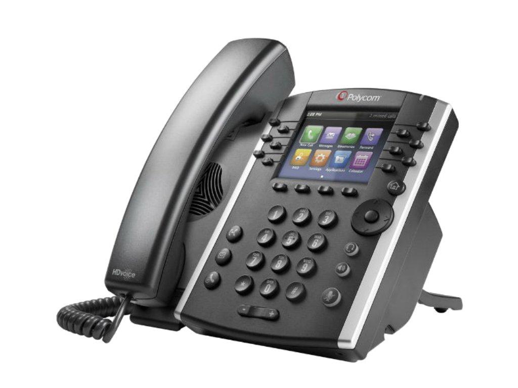 VVX 411 12-line Phone Reduced