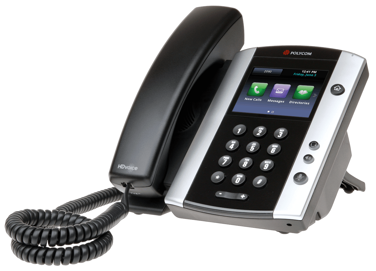 Polycom VVX501 VoIP phone