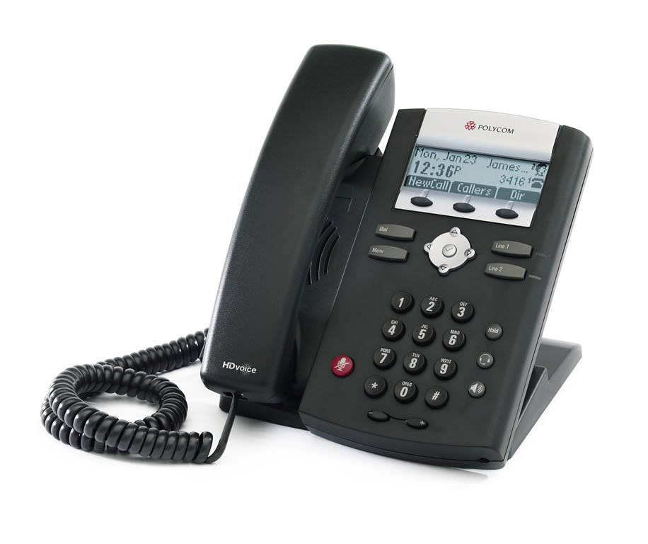 Polycom IP335 IP Phone Front