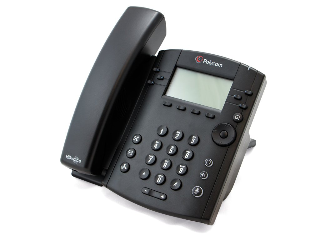 Polycom VVX 300 IP Phone Side