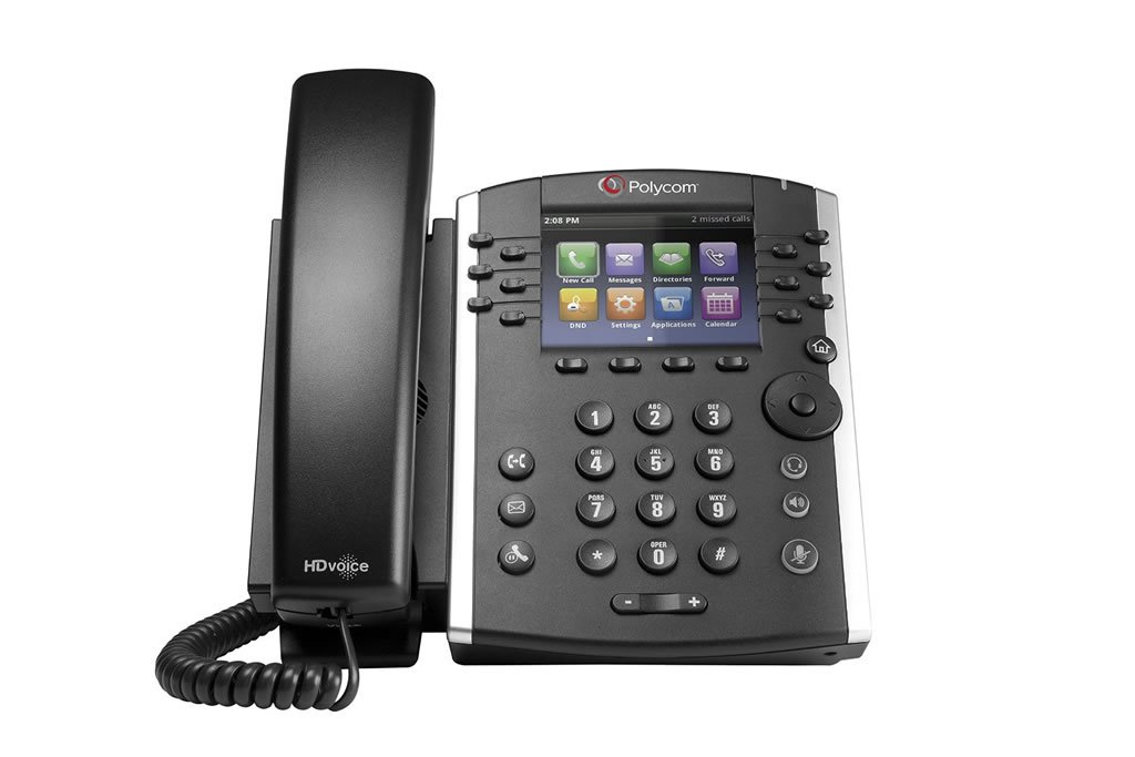 Polycom VVX 400 IP Phone Front