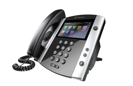 Polycom VVX 600 IP Phone Side