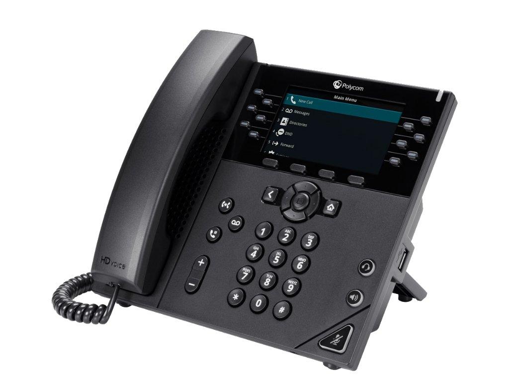 VVX450 12 Line Colour IP Phone