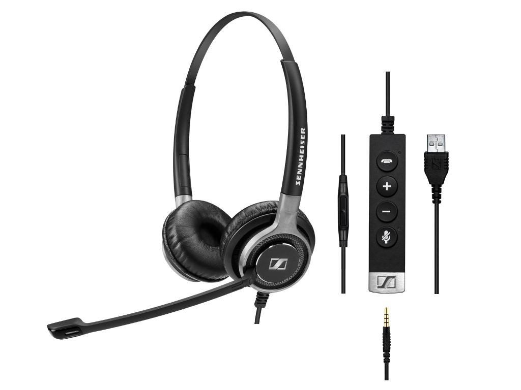SC665 USB Sennheiser headset