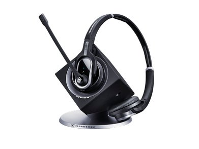 Sennheiser DWPRO2 DECT-Based Wireless Binaural Headset Front
