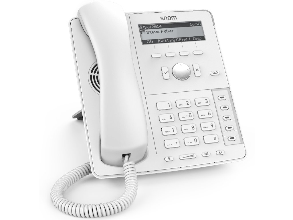 D715 Phone in White