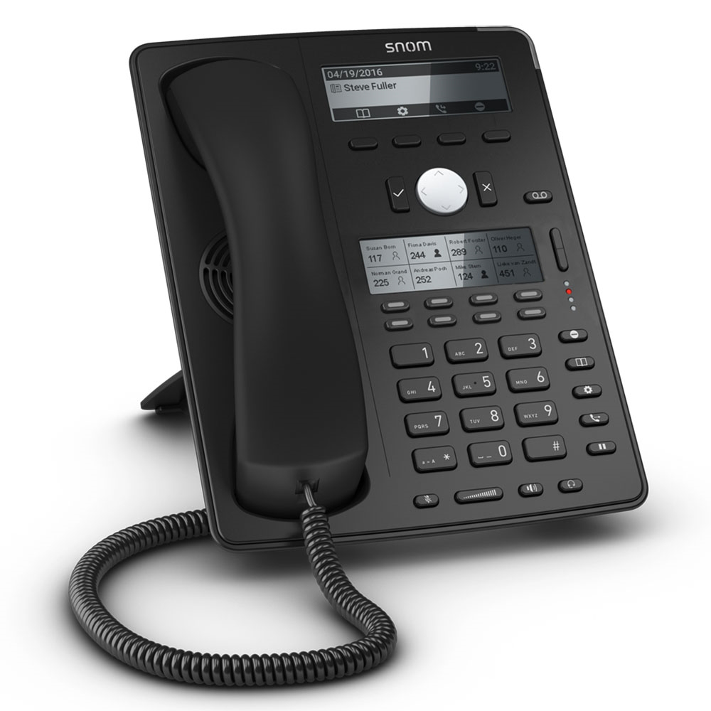 Snom d745 ipphone front