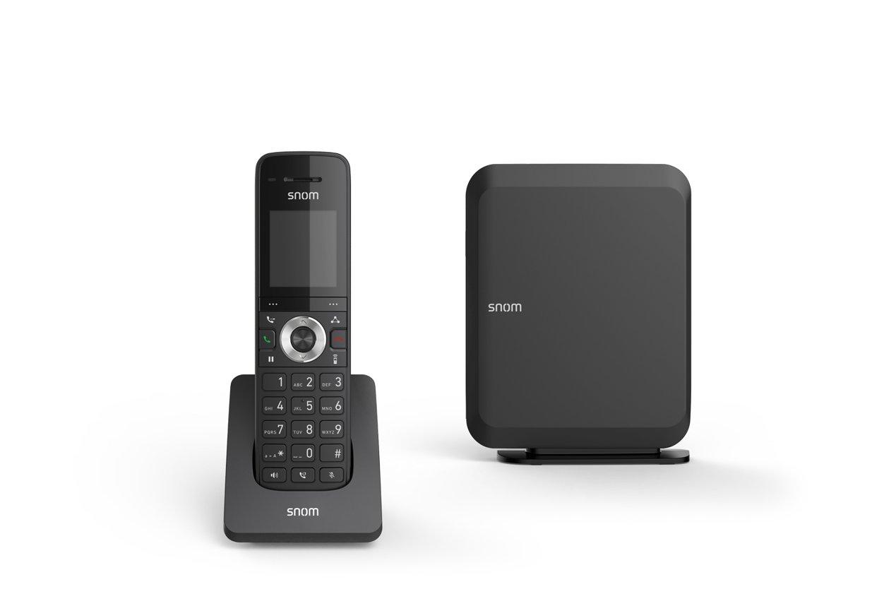 Snom M215 DECTIPPhone FrontBundle