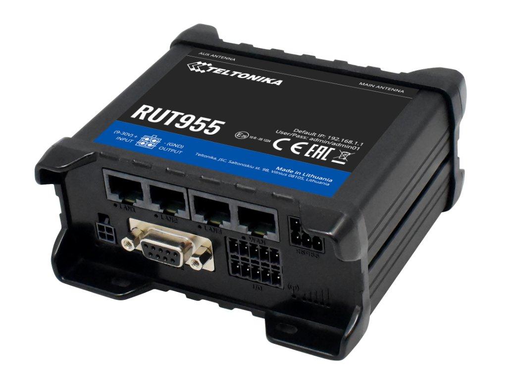RUT955 GPS Dual Sim 4G Router Reduced