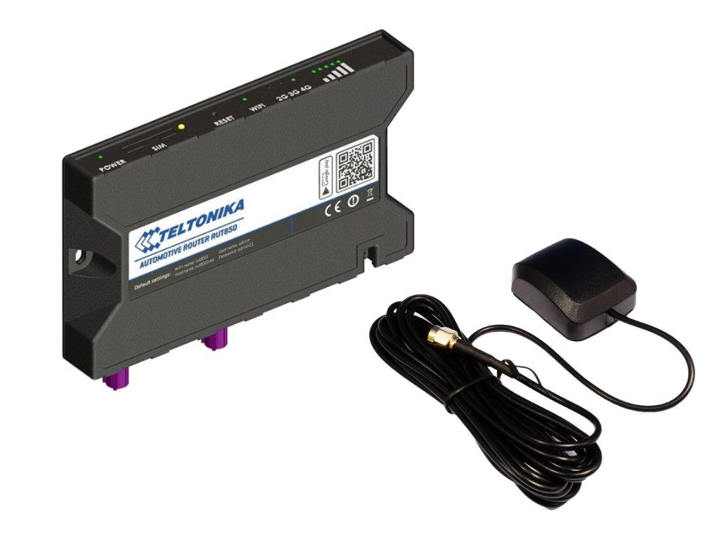 Teltonika RUT850 GPS Bundle Front