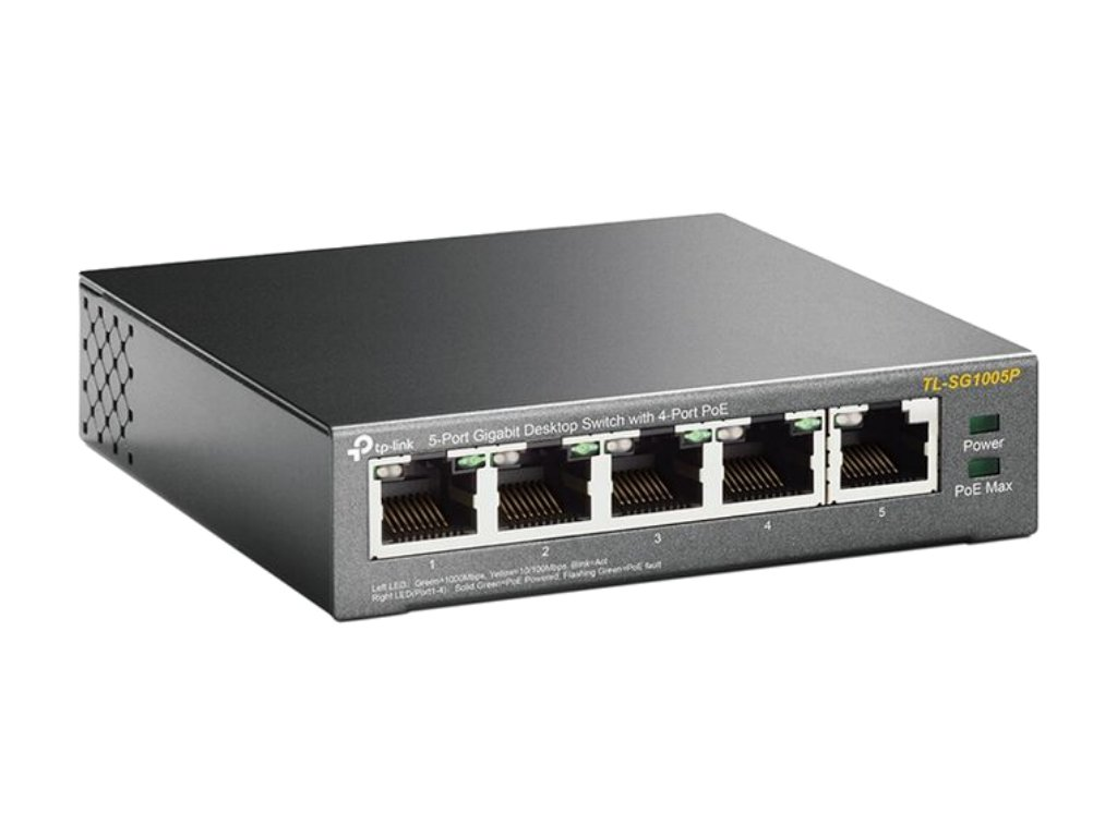 TPLink TLSG1005P Switch RightAngle