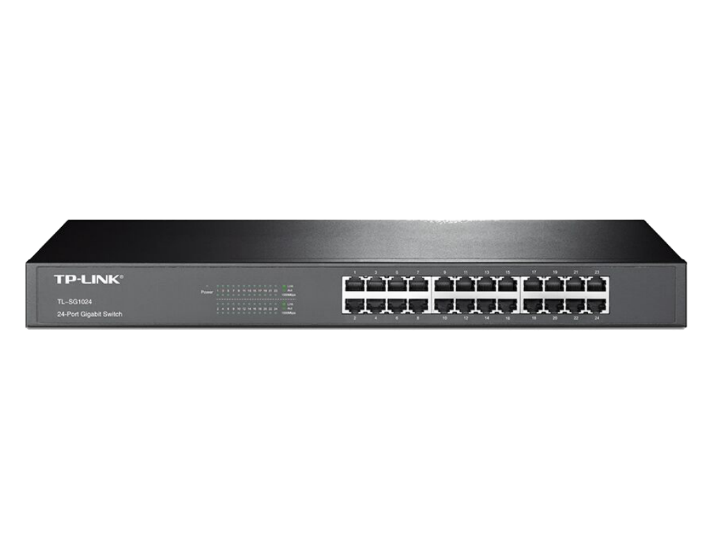 TPLink TLSG1024 Switch Front