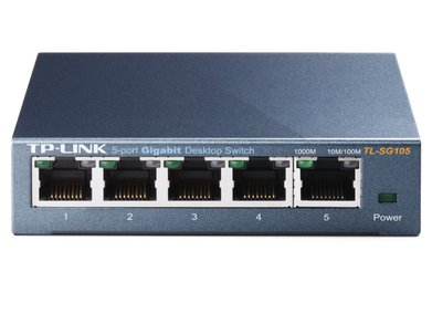 TPLink  TLSG105 Switch FrontTop