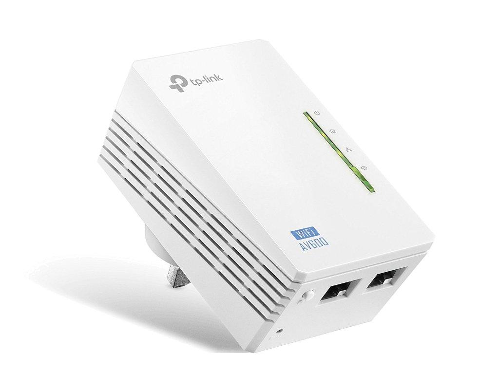 TPLink TLWPA4220 WifiAccessPoint PortAngle