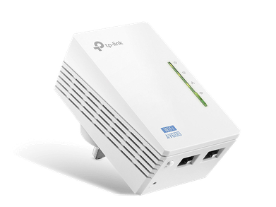 TPLink TLWPA4220 WifiAccessPoint PortAngle