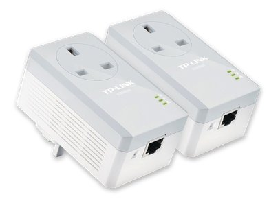 TP-Link TL-PA4010PKIT AV600 Powerline Passthrough Kit Front