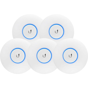 Ubiquiti 5 x UAP AC LR Wifi Access Point 5Pack
