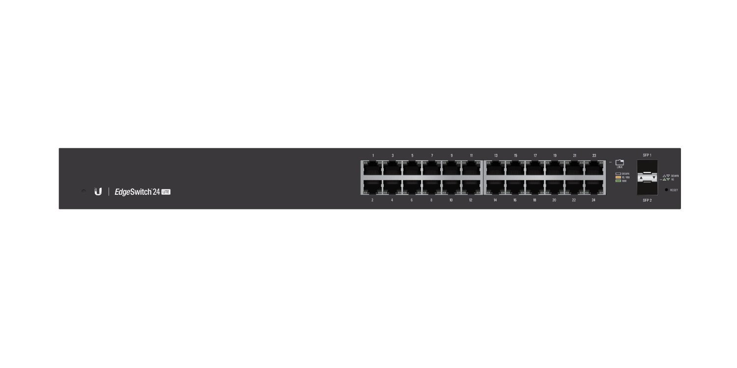 Ubiquiti ES 24 LITE Switch Front