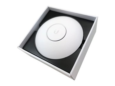 Ubiquiti UAPNANOHD WifiAccessPoint BoxOpenAngle