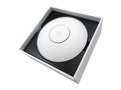 Ubiquiti UAPNANOHD WifiAccessPoint BoxOpenAngle