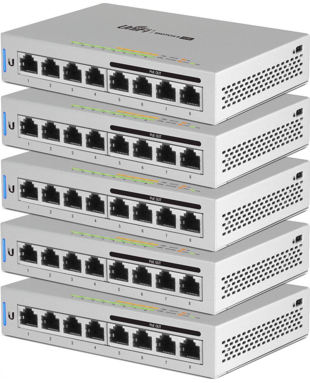 Ubiquiti US860W5 Switch Angle