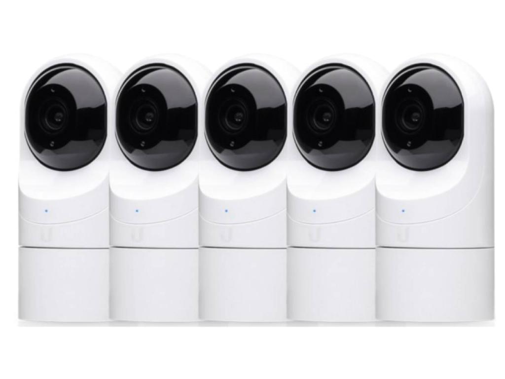 Ubiquiti UniFi UVC-G3-FLEX-5 Video Cameras (5 pack)