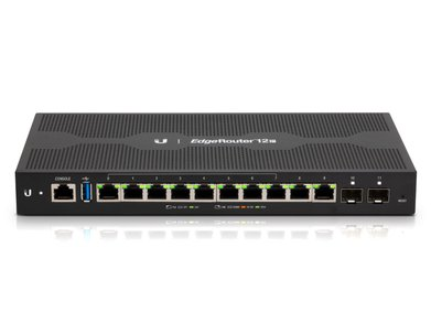 ER-12P 10 Configurable PoE Ports and 2 SFP Ports
