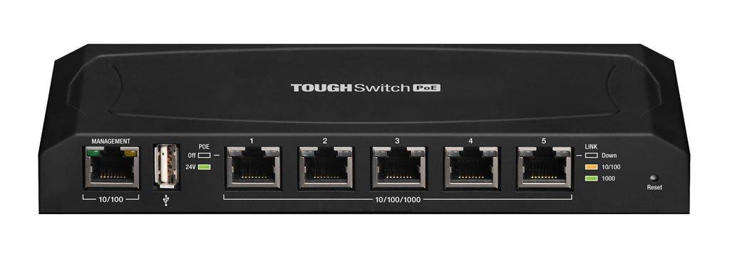 Ubiquiti TS 5 POE Switch Rear