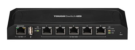 Ubiquiti TS 5 POE Switch Rear