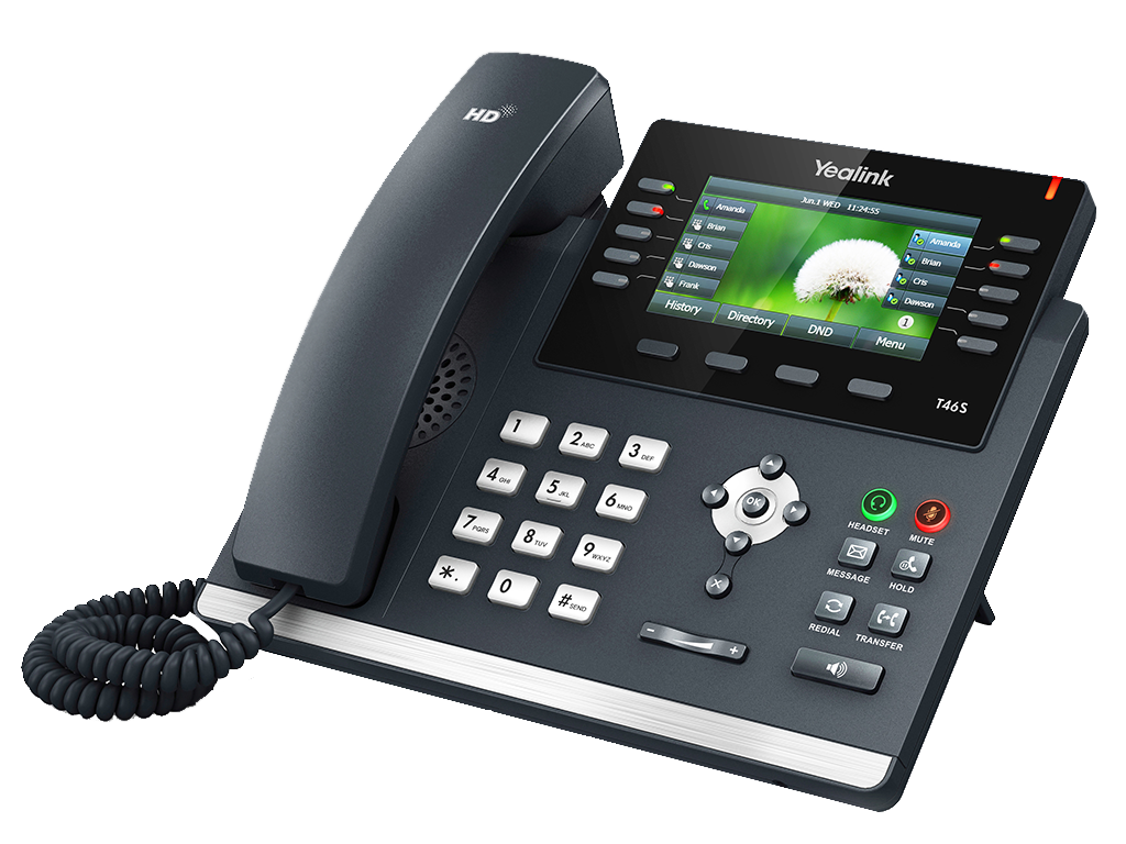 T46S 16 Line IP Phone - Reduced