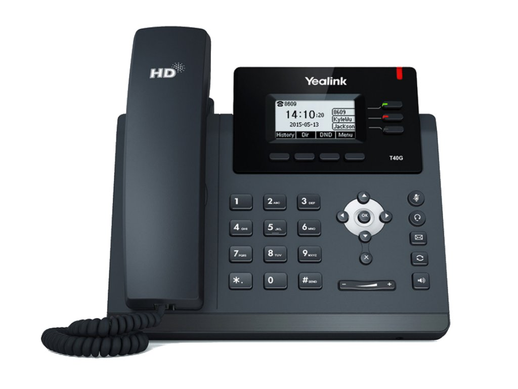T40G 3 Lines IP Phone Front