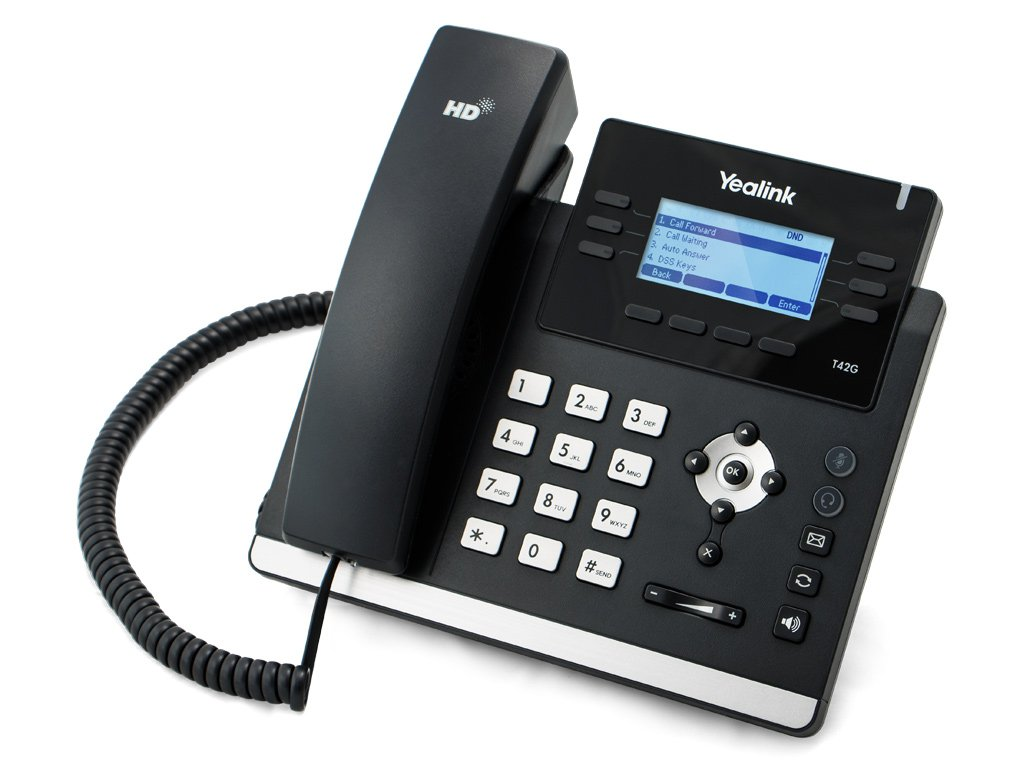 Yealink T42 IP Phone Front