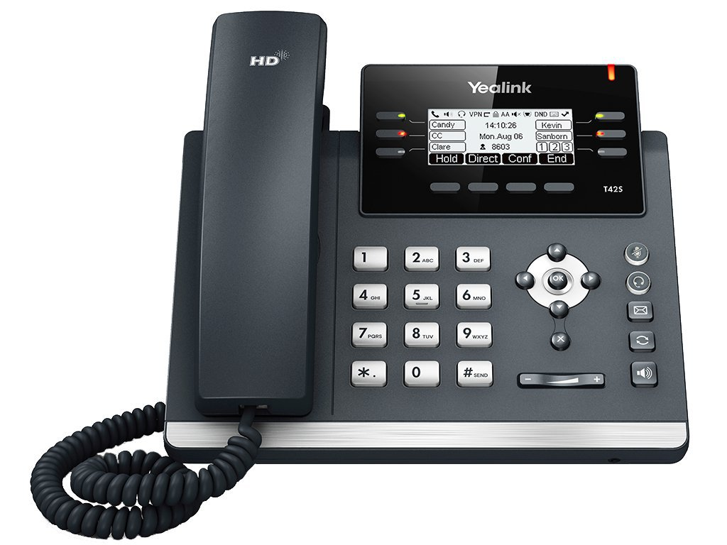 T42S SFP Phone Front