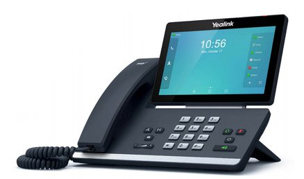 Yealink T58A IP Phone Front